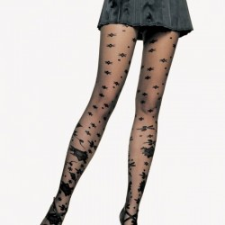 Çiçek Desenli Çorap Modelleri