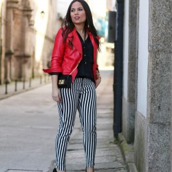 2014 Çizgili Pantolon Modelleri