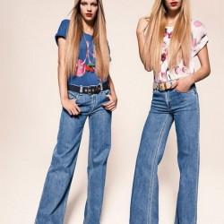 Açık Renk İspanyol Paça Jean Modelleri