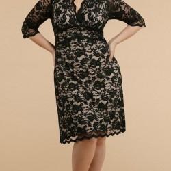 Büyük Beden Orta Yaş Elbise Modelleri