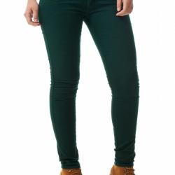 Düğmeli Yeşil Pantolon Modelleri