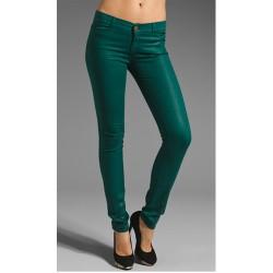 Dar Kesim Yeşil Pantolon Modelleri