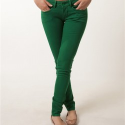 Dar Yeşil Pantolon Modelleri