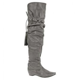 Gri Dizüstü Çizme Modelleri