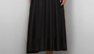 Kloş Siyah Uzun Etek Modelleri