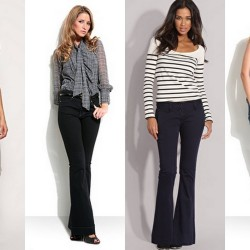 Koyu İspanyol Paça Jean Modelleri