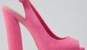 Pembe Kalın Topuklu Ayakkabı Modelleri