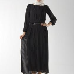 Pileli Orta Yaş Elbise Modelleri