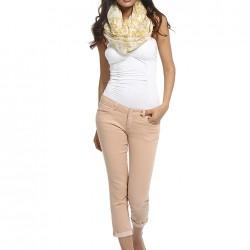 Pudra Kısa Paçalı Pantolon Modelleri