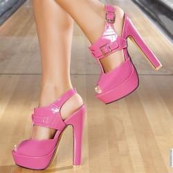 Rugan Kalın Topuklu Ayakkabı Modelleri