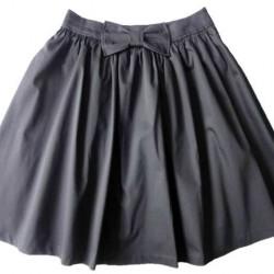 Siyah Kloş Etek Modelleri
