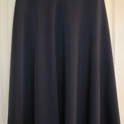 Tesettür Siyah Uzun Etek Modelleri