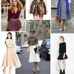 Trend Kloş Etek Modelleri