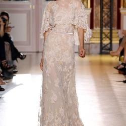 Uzun Kollu Orta Yaş Elbise Modelleri
