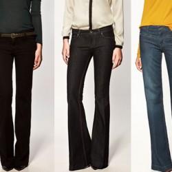 Yüksek Bel İspanyol Paça Jean Modelleri