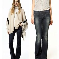 Zara İspanyol Paça Jean Modelleri