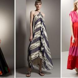 Askılı Maksi Elbise Modelleri