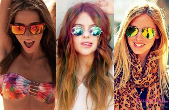 Aynalı Yeni Güneş Gözlüğü Modelleri