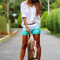 Beyaz Yaz Sokak Modası