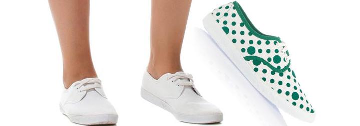 Defacto Yazlık Bez Ayakkabı Modelleri