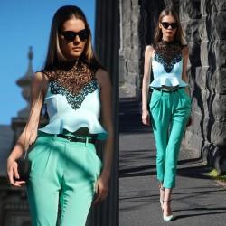 Farklı 2014 Neon Pantolon Modelleri