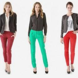 Gösterişli 2014 Neon Pantolon Modelleri