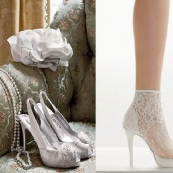 Gelin Ayakkabısı Yeni Dantelli Ayakkabı Modelleri