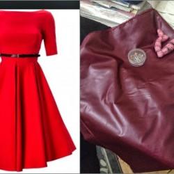 Kırmızı Kloş Elbise Modelleri