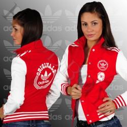 Kırmızı Kolej Ceket Modelleri