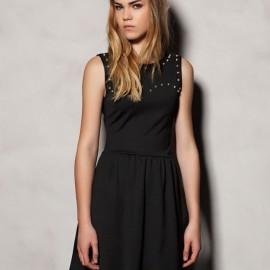Kısa Kollu Kloş Elbise Modelleri