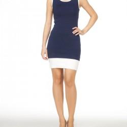 Lacivert Bayramlık Elbise Modelleri