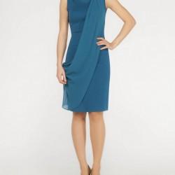 Mavi Bayramlık Elbise Modelleri