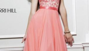 Pembe Uzun Elbise Modası
