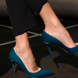 Petrol Mavisi Bayramlık Ayakkabı Modelleri