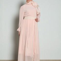 Pudra Yeni Yazlık Tesettür Giyim Modelleri