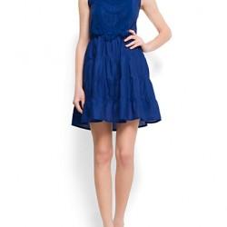 Saks Kloş Elbise Modelleri