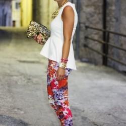 Tayt Bluz Yaz Sokak Modası