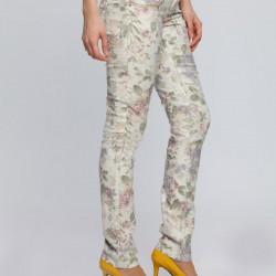 Trend Yeni Çiçekli Pantolon Modelleri