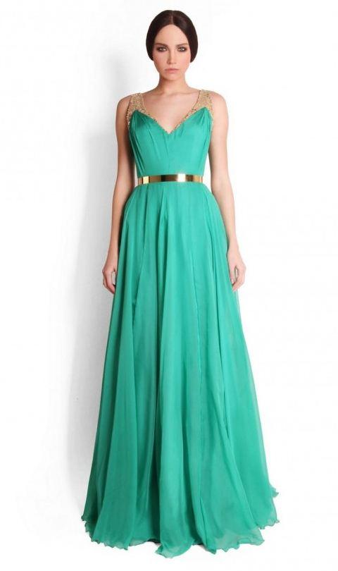 e96c12a6b571f Yeni Mint Yeşili Yazlık Elbise Modelleri | Elbise, Yazlık giyim