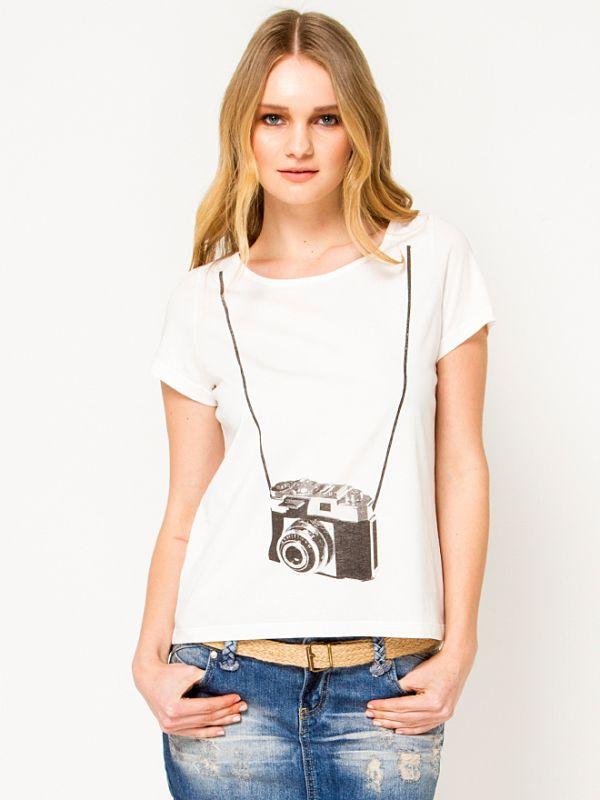 Vero Moda Vintage Tişört Modelleri