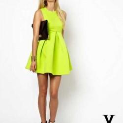 YKM Neon Elbise Modelleri