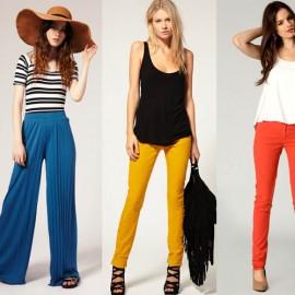 Yeni Sezon 2014 Neon Pantolon Modelleri