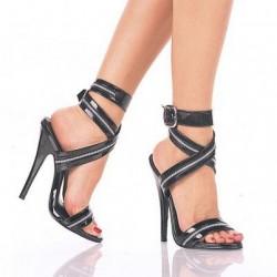 İnce Topuklu Bantlı Ayakkabı Modelleri