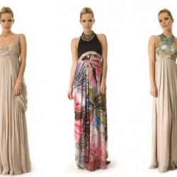 Batik Yazlık Elbise Modelleri 2014