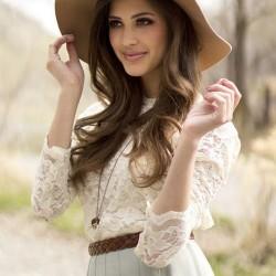 Beyaz Bluz Modası