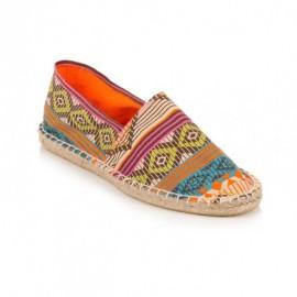 Etnik Desenli Yazlık Bez Ayakkabı Modelleri