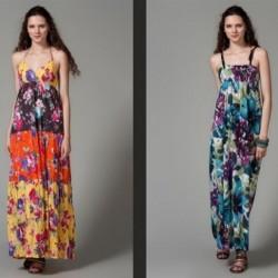 Rahat Batik Yazlık Elbise Modelleri