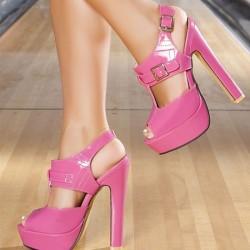 Rugan Yeni Pembe Yazlık Ayakkabı Modelleri