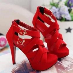 Topuklu Bantlı Ayakkabı Modelleri