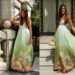 Yazlık Maksi Elbise Modelleri